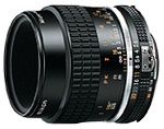 Nikon 55mm f/2.8 AIS Micro-Nikkor lens