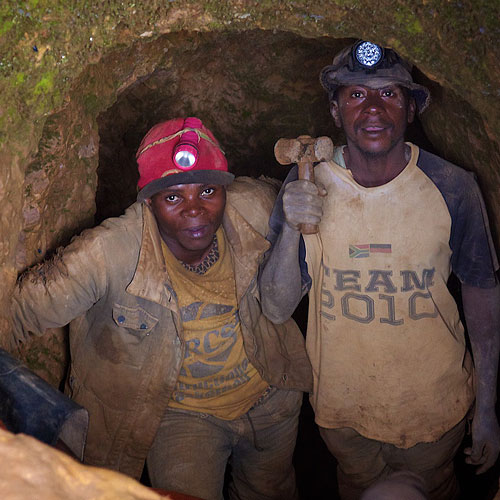 Miners in South Kivu, Democratic Republic of the Congo. Photo courtesy of the Enough Project / Sasha Lezhnev. Click for a bigger picture!