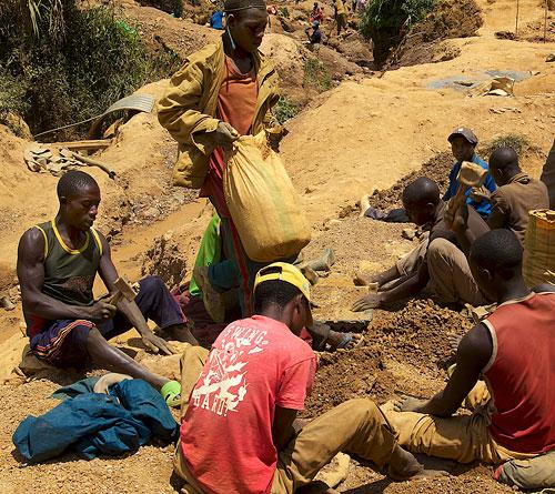 Tin miners in North Kivu, Democratic Republic of the Congo. Photo courtesy of the Enough Project / Sasha Lezhnev. Click for a bigger picture!