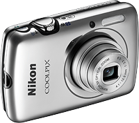 Nikon's Coolpix S01 digital camera. Photo provided by Nikon. Click for our Nikon S01 preview!