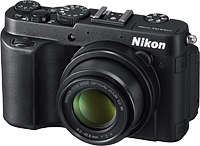 Nikon's Coolpix P7700 digital camera. Photo provided by Nikon. Click for our Nikon P7700 preview!