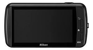 Nikon's Coolpix S01 digital camera. Photo provided by Nikon. Click for a bigger picture!