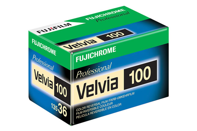 Fujifilm ceases sale of Velvia 100 film in the US due to new EPA regulations