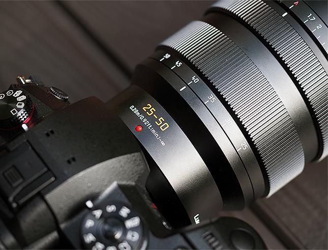 Hands-on: Panasonic announces super-fast Leica 25-50mm f/1.7 Micro Four Thirds lens