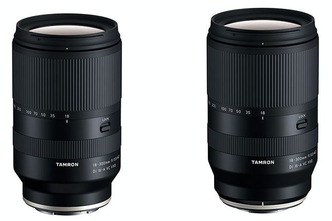 Tamron announces its first lens for Fujifilm X-mount, the 18-300mm f/3.5-6.3, also available for E-mount