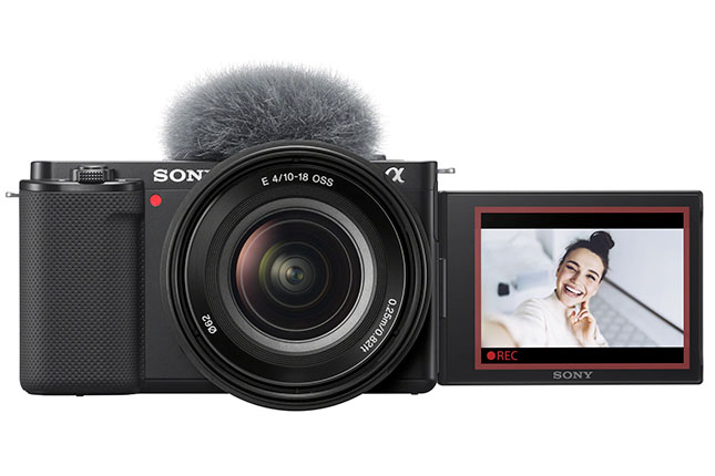 Sony announces ZV-E10: APS-C E-mount Alpha camera for vloggers and video content creators
