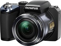 Olympus' SP-820UZ iHS digital camera. Photo provided by Olympus. Click for our Olympus SP-820UZ preview!