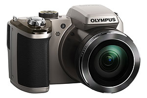 Olympus' SP-820UZ iHS digital camera. Photo provided by Olympus. Click for a bigger picture!