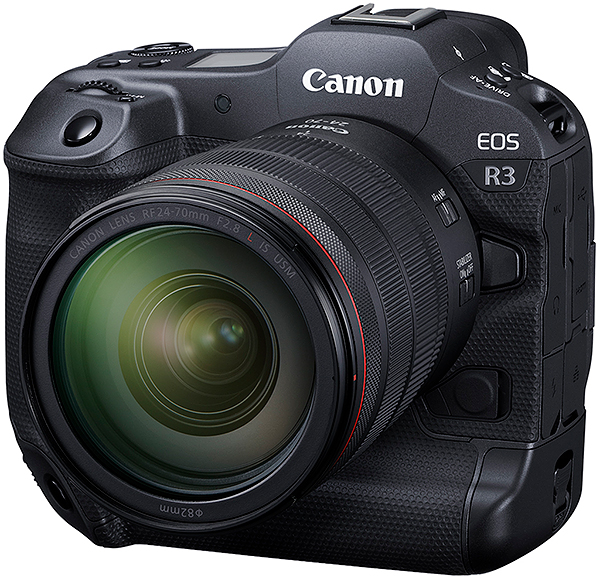 Canon fully unveils the EOS R3 professional camera: 24MP stacked BSI sensor, 30fps, Eye Control AF, 6K RAW video & more!