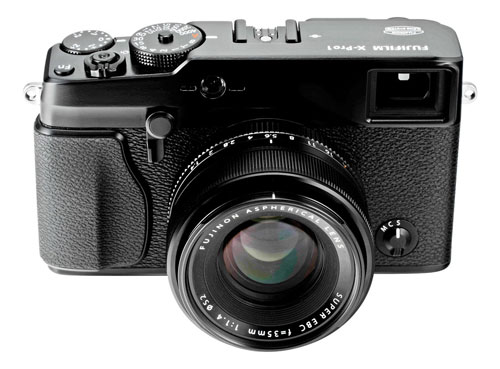 Fujifilm's X-Pro1 compact system camera. Photo provided by Fujifilm.