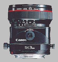 image of the Canon TS-E 24mm f/3.5L lens