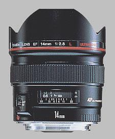 image of the Canon EF 14mm f/2.8L USM lens