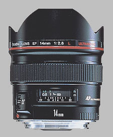 image of the Canon EF 14mm f/2.8L USM lens