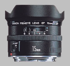 image of the Canon EF 15mm f/2.8 Fisheye lens
