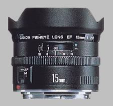 image of Canon EF 15mm f/2.8 Fisheye