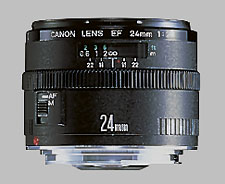 image of the Canon EF 24mm f/2.8 lens