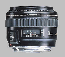 image of the Canon EF 28mm f/1.8 USM lens