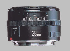 image of the Canon EF 28mm f/2.8 lens