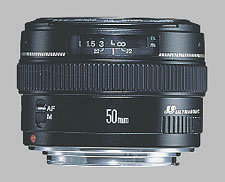 image of the Canon EF 50mm f/1.4 USM lens