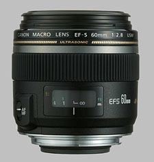 image of the Canon EF-S 60mm f/2.8 Macro USM lens