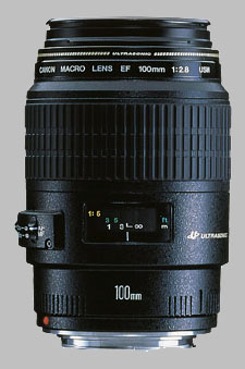 image of the Canon EF 100mm f/2.8 Macro USM lens