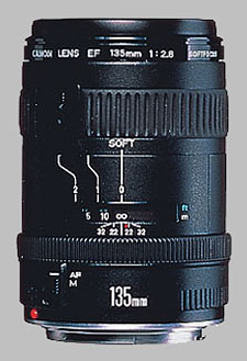 image of the Canon EF 135mm f/2.8 Soft Focus lens