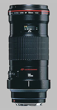image of the Canon EF 180mm f/3.5L Macro USM lens