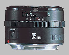image of the Canon EF 35mm f/2 lens