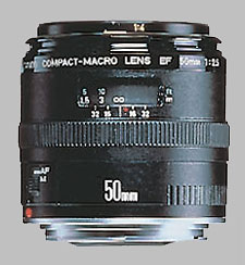 image of the Canon EF 50mm f/2.5 Compact Macro lens
