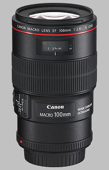 image of the Canon EF 100mm f/2.8L Macro IS USM lens