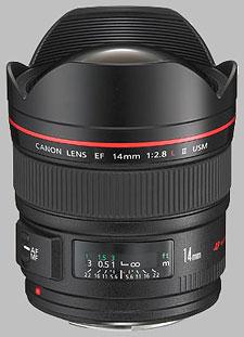 image of the Canon EF 14mm f/2.8L II USM lens
