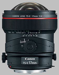 image of the Canon TS-E 17mm f/4L lens