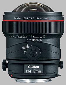 image of the Canon TS-E 17mm f/4L lens