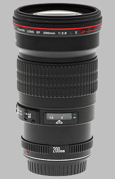 image of the Canon EF 200mm f/2.8L II USM lens