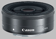 image of the Canon EF-M 22mm f/2 STM lens