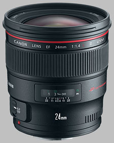 image of the Canon EF 24mm f/1.4L II USM lens