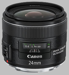 image of the Canon EF 24mm f/2.8 IS USM lens