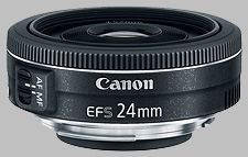 image of the Canon EF-S 24mm f/2.8 STM lens