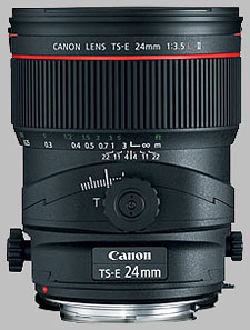 image of the Canon TS-E 24mm f/3.5L II lens