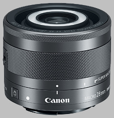 image of the Canon EF-M 28mm f/3.5 Macro IS STM lens