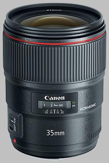 image of the Canon EF 35mm f/1.4L II USM lens