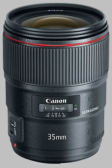 image of the Canon EF 35mm f/1.4L II USM lens