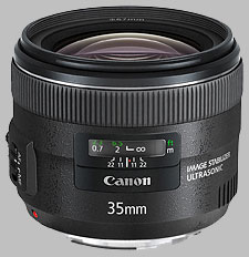 image of the Canon EF 35mm f/2 IS USM lens