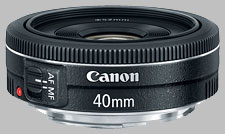 image of the Canon EF 40mm f/2.8 STM lens