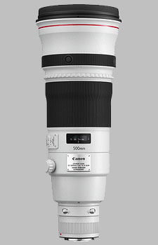 image of the Canon EF 500mm f/4L IS II USM lens
