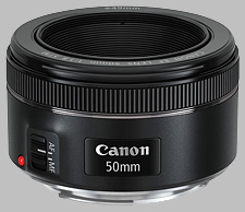 image of the Canon EF 50mm f/1.8 STM lens