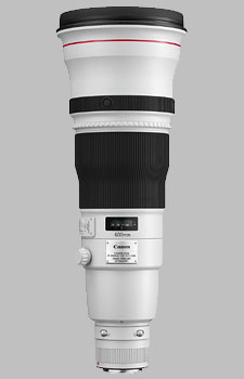 image of the Canon EF 600mm f/4L IS II USM lens