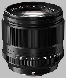 image of the Fujinon XF 56mm f/1.2 R lens