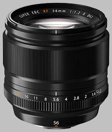 image of the Fujinon XF 56mm f/1.2 R lens