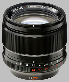 image of the Fujinon XF 56mm f/1.2 R APD lens